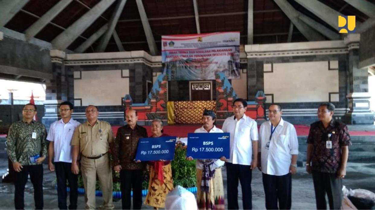 2019, Kementerian PUPR Bedah 3.000 Rumah MBR di Bali