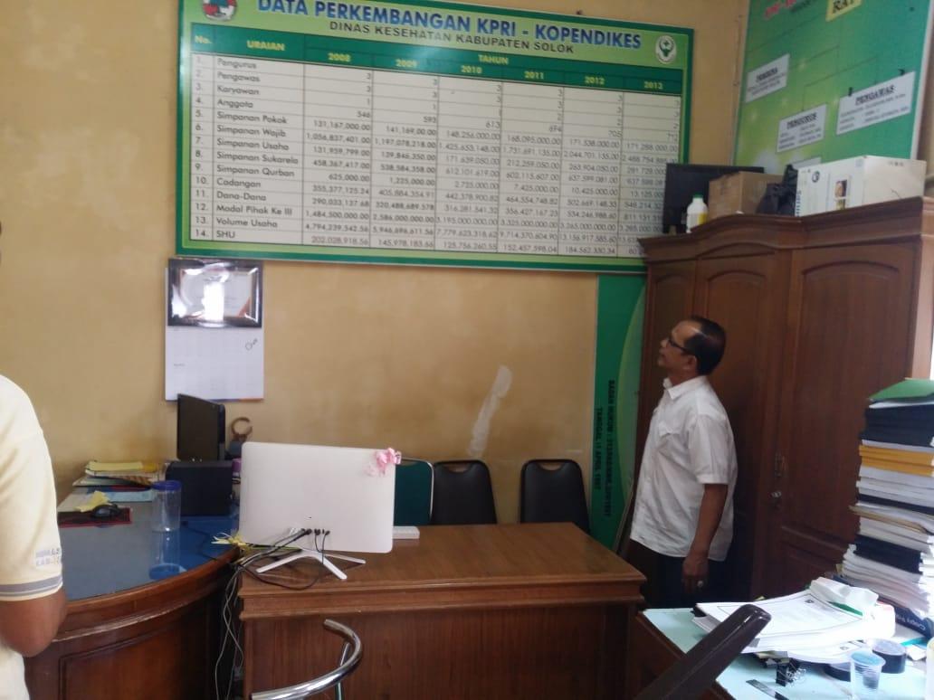 Prihatin Bangkrutnya Duo Koperasi PNS di Kabupaten Solok, Terobati oleh Koperasi PNS Diskes