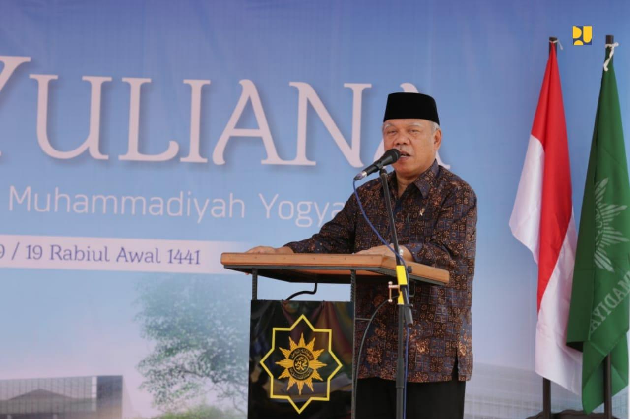 Menteri Basuki Resmikan Rusun Santri di Ponpes Muhammadiyah
