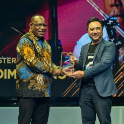 Menteri Basuki Raih Penghargaan The Most 'Rock and Roll Infrastructure Minister' dari Medcom.id