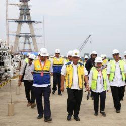 Menteri Basuki Targetkan Jembatan Pulau Balang II Selesai Akhir 2020