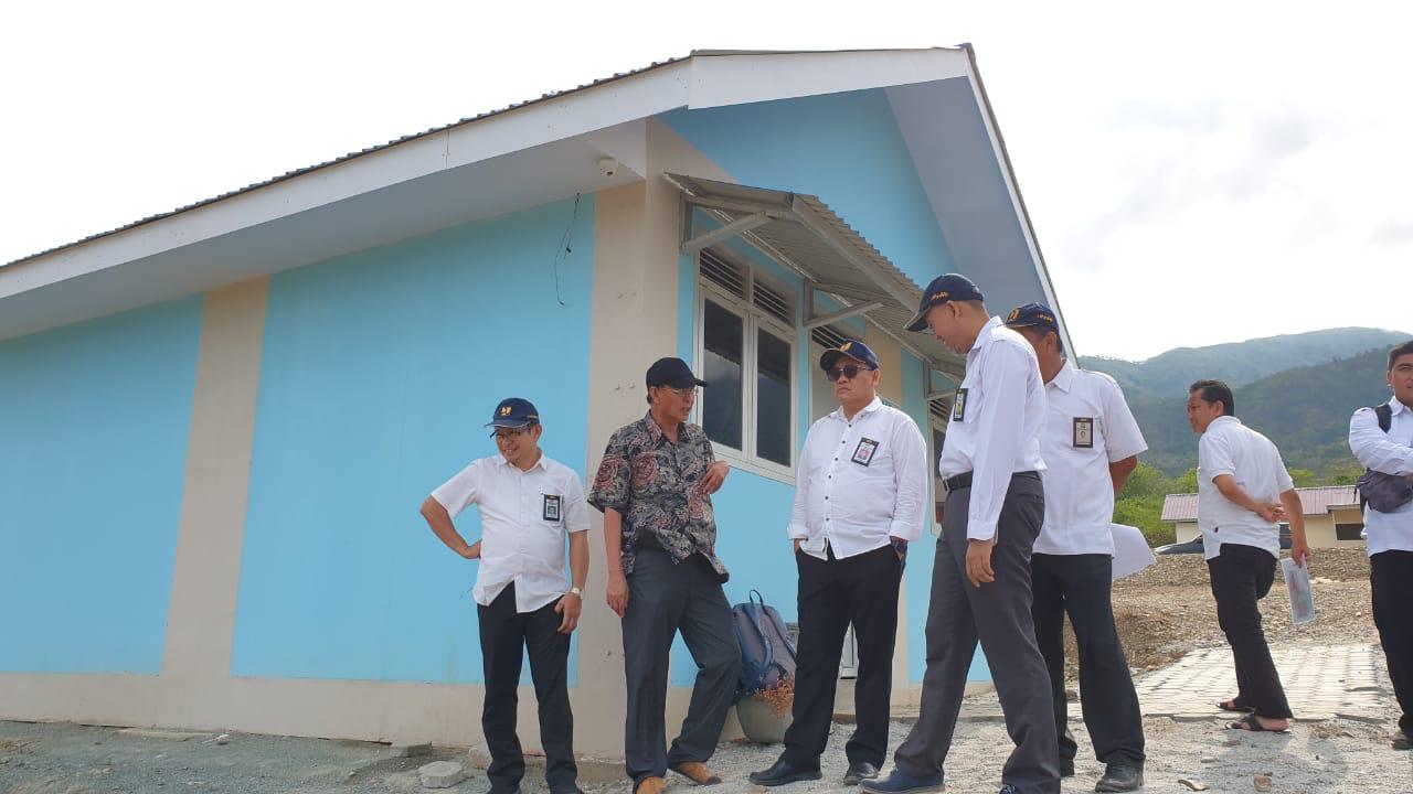 Huntap Pasca Bencana Sulteng yang Dibangun Kementerian PUPR