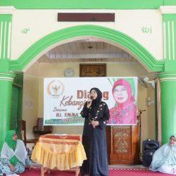 Hj. Emma Yohanna Bicara Penguatan Nilai Pancasila Dihadapan Majelis Taklim Indonesia