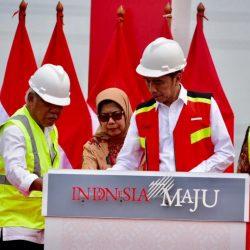 Diresmikan Presiden Jokowi, Jalan Tol Layang Akan Kurangi Kemacetan Jakarta-Cikampek