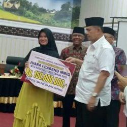 Astuti, Peraih Medali Emas MTQ Nasional di Sumut, Terima Bonus 150 Juta
