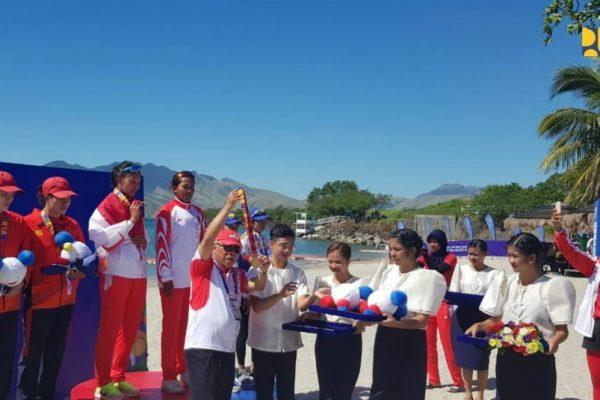 Menteri Basuki Terharu Lihat Prestasi Atlet Dayung di Sea Games Manila