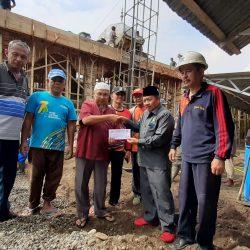 AWR Bantu Pembangunan Masjid Baitul Amal Sitingkah Tangah Lubuk Basung
