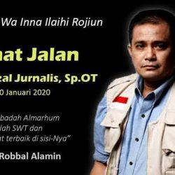 Aktivis Mer-C Joserizal Jurnalis Wafat, Irjen Fakhrizal: Beliau Senior Saya, Inspirasi Kami