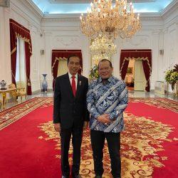 Reydonnyzar Moenek Dampingi Ketua DPD RI Sampaikan Aspirasi Daerah ke Presiden Jokowi