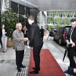 Menteri Basuki dan Menlu Perdagangan Hungaria Bahas Kelanjutan Kerja Sama Pembangunan Infrastruktur