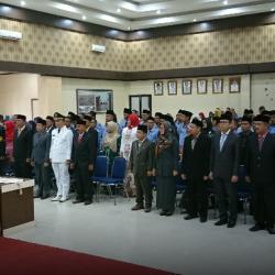Sekda Rida Ananda Lantik 95 Pejabat