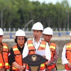 Presiden Jokowi Resmikan Selesainya Pembangunan TPA Sampah Regional Banjarbakula