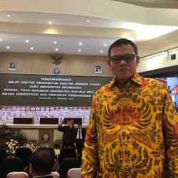 Jelang Pemilihan Rektor UNP, Syahrial Bakhtiar Hadiri Anugerah Dr (HC) Puan Maharani