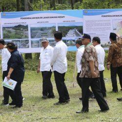Presiden Jokowi Tinjau Sabo Dam Kali Putih, Magelang