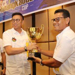 Dilaunching Gubernur, H. Mulyadi Merasa Tersanjung Diminta Sponsori Minangkabau Cup