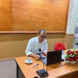 Antisipasi Covid-19. Pemkab Kepulauan Mentawai Gelar Forum OPD secara Online