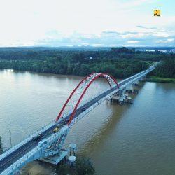 Progres 99 Persen, Jembatan Tumbang Samba Kalteng Tumbuhkan Perekonomian Masyarakat