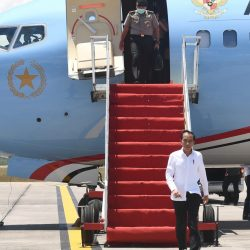 Presiden Jokowi Tinjau RS Darurat Covid-19 di Pulau Galang