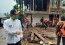 Peduli Terhadap Sesama, Pemuda Pancasila Agam Bantu Bersihkan Material Lonsor Tanjung Sani