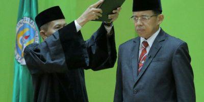 Jabat Periode Kedua Rektor UNP, Pelantikan Prof Ganefri oleh Sekjen Kemendikbud Dilakukan Secara Virtual