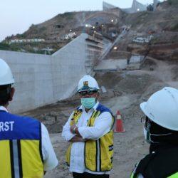 Menteri Basuki Minta Pembangunan Bendungan Cipanas Selesai Tahun 2022