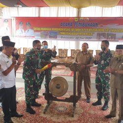 Percepat Pembangunan Daerah, TNI Buka Jalan Baru di Nagari Panyalaian Tanah Datar