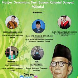 BEM Unitas Padang jadi Inisiator Seminar Nasional Sejarah Perjuangan Ki Hajar Dewantara