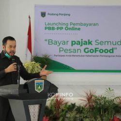 Hanya Kota Padang Panjang yang Launching PBB-PP Online Di Sumbar