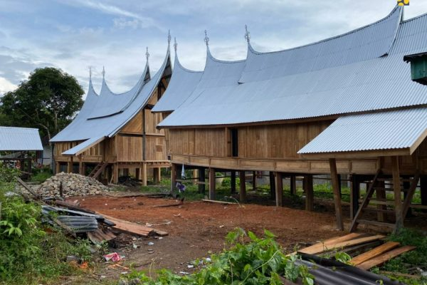 Kementerian PUPR Tata Kawasan Cagar Budaya Saribu Rumah Gadang Solok Selatan