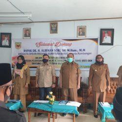 Anggota DPD Alirman Sori Ingatkan Bumnag dan BLT Dana Desa di Tanah Datar