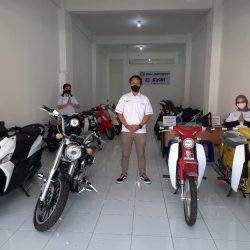 Motor SYM & SM Sport Mulai Mengaspal di Sumatera Barat