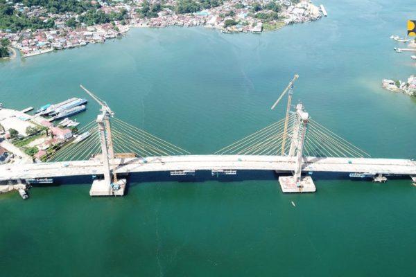 Menteri Basuki : Pembangunan Jembatan Harus Diberi Sentuhan Desain Bernilai Seni