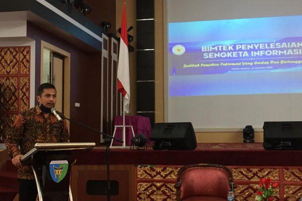 Nofal Wiska: Pessel Daerah Terkomit Soal Keterbukaan Informasi Publik