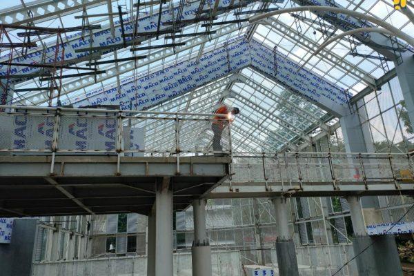 Kementerian PUPR Selesaikan Penataan Taman Anggrek Kebun Raya Bogor