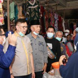 Calon Gubernur Mulyadi Siap Perjuangkan Aspirasi Pedagang Pasar Talawi