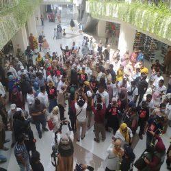 Kunjungi Pasar Ateh Bersama Sandiaga Uno, Indra Catri Disapa Inyiak Datuak oleh Pedagang