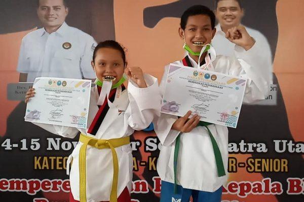 Martin Yudha Puas Dengan Prestasi Anaknya di Kejuaraan Taekwondo