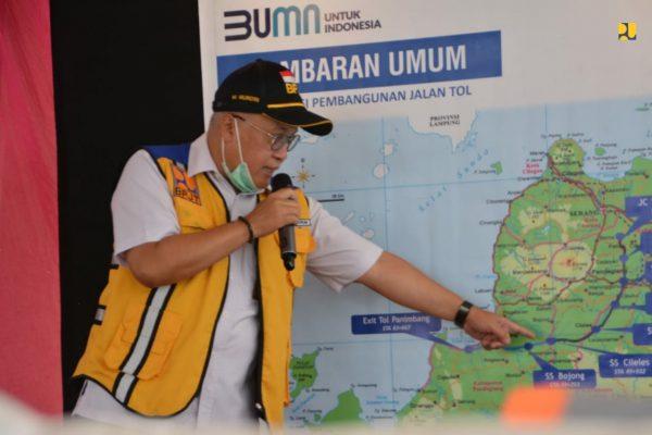 Progres 84,18 Persen, Jalan Tol Serang-Panimbang Seksi 1 Dukung Arus Mudik Lebaran 2021