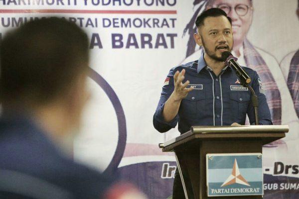 AHY Instruksikan Kader Demokrat Sumbar Fokus Menangkan Mulyadi-Ali Mukhni