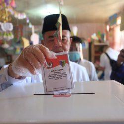 Mencoblos di Kampung Halaman, Nasrul Abit Ajak Masyarakat Datang ke TPS