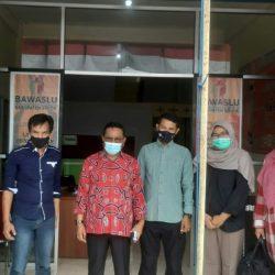 Kasek Bawaslu Sumbar Monitoring Rekap Suara Tingkat Kecamatan di Kabupaten Solok