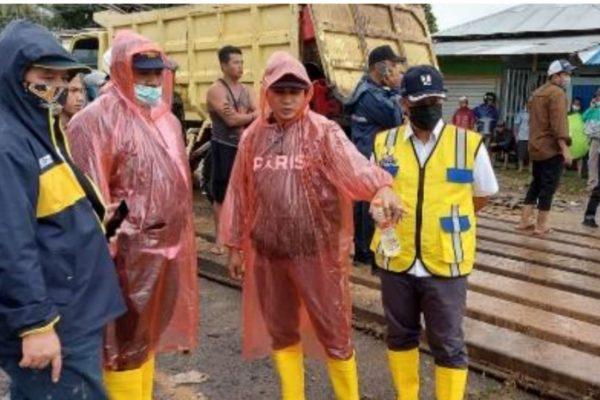 Tergerus Banjir, Menteri Basuki Minta Pemasangan Jembatan Bailey di Martapura Selesai 3 Hari