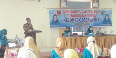Ketua TP-PKK, Ny. Nanda Hidayatul Taufid: 173 Kelompok Dasawisma Telah Dibentuk di Tanjung Mutiara