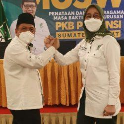 Anggi Ermarini Pimpin PKB Sumbar, FDB Insya Allah Bantu Cak Imin di DPP