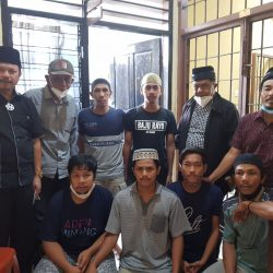 Tanah Ulayat Dirampas Mafia, 6 Pemuda Malalo Ditahan Polres Padang Panjang