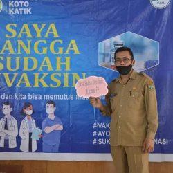 11 Anggota DPRD Padang Panjang dan 29 ASN Setwan Divaksinasi