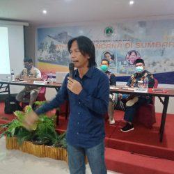 Ketua JJSB Sumbar: Liputan Bencana, Reporter Harus Berada di Lokasi