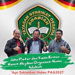 Berebut Ketum di Mubes PAA 2021, John dan Yuzon Janji akan Saling Dukung