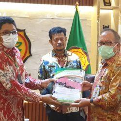 Wako Hendri Septa Temui Mentan Untuk Kembangkan Pertanian di Kota Padang