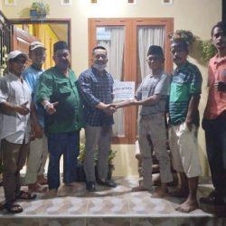 Peduli Dapil, Manufer Bantu Renovasi Sarana Olahraga Komplek ABI Kayu Kalek